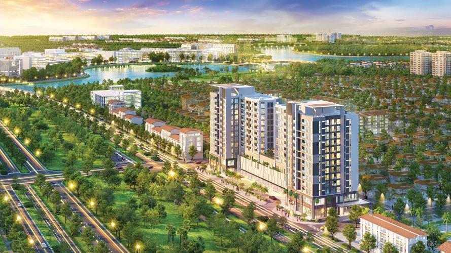 Building dự án Căn hộ Urban Hill Q7 tầng thấp, đầy đủ nội thất.