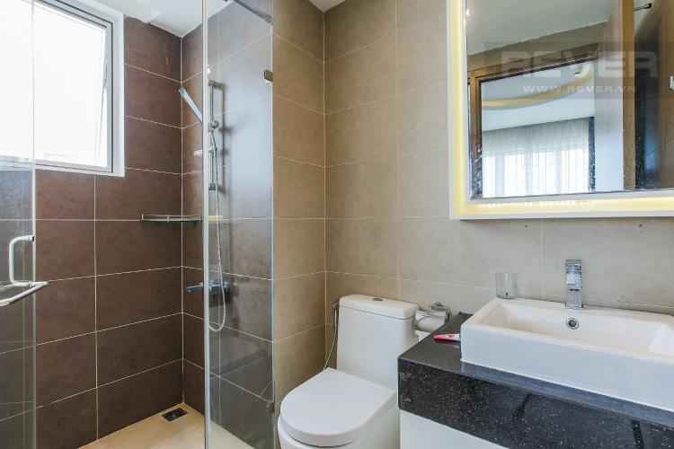 Phòng Tắm 1 Căn hộ Galaxy 9 3 phòng ngủ tầng thấp nội thất đầy đủ