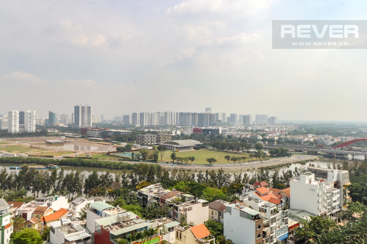 can-ho-SAIGON-MIA Cho thuê căn hộ Saigon Mia 3PN, tầng trung, đầy đủ nội thất, ban công hướng Đông, view thoáng