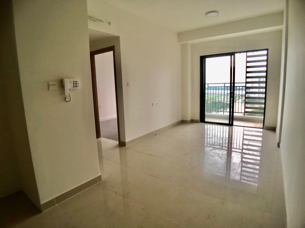 PHÒNG KHÁCH Bán căn hộ The Sun Avenue 1PN + 1, diện tích 56m2, không nội thất, view trực diện sông