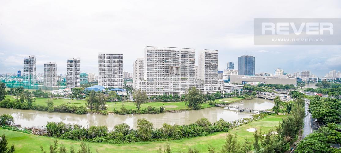 View Bán căn hộ Happy Valley 3PN, tầng thấp, đầy đủ nội thất, view trực diện sông
