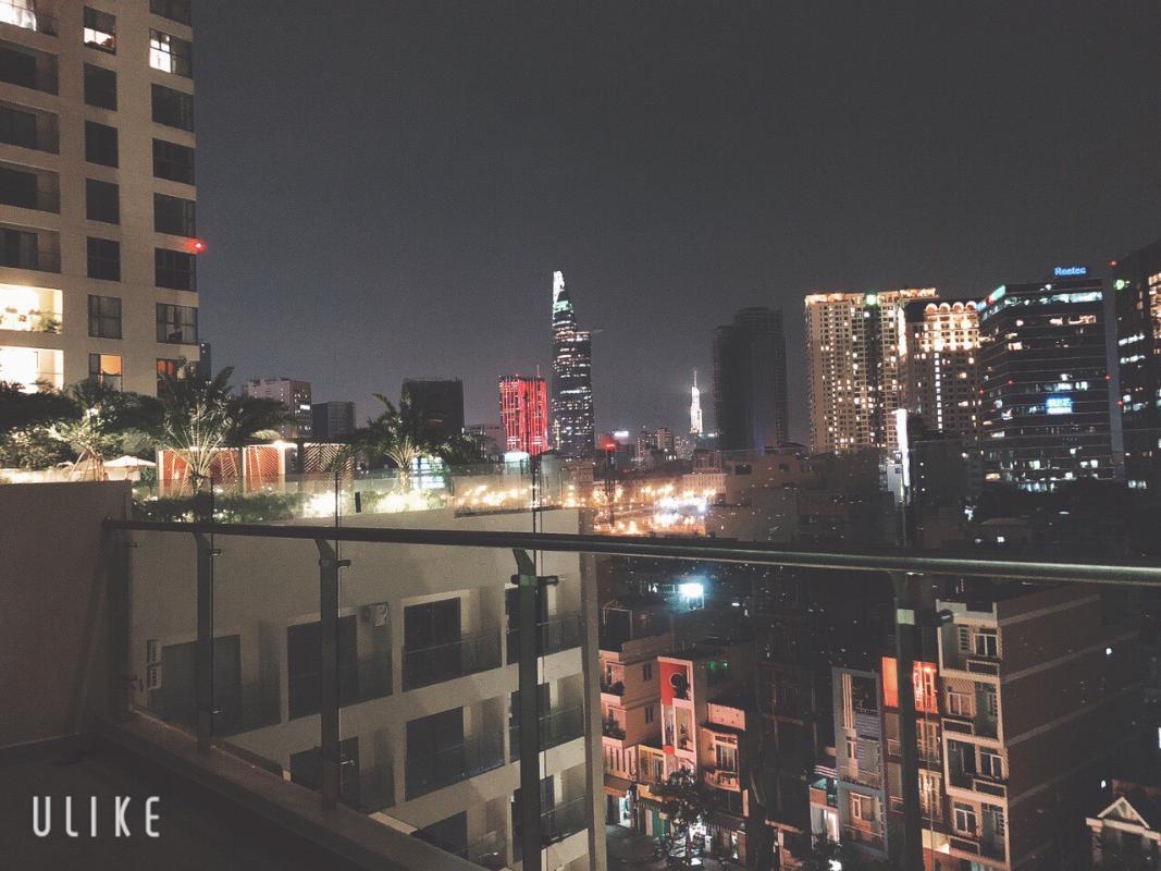 d67233127ba19cffc5b0 Bán căn hộ Masteri Millennium 2PN, block A, diện tích 60m2, đầy đủ nội thất, view Bitexco