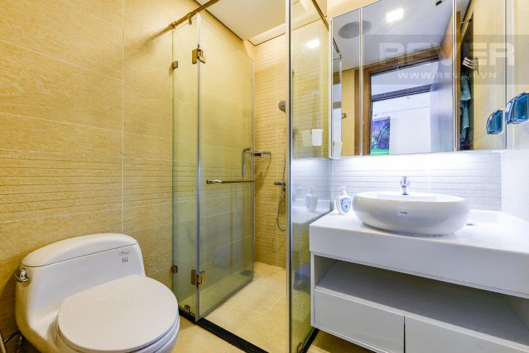 Phòng tắm 1 Căn hộ Vinhomes Central Park tầng cao, tháp Park 6, 2 phòng ngủ, full nội thất