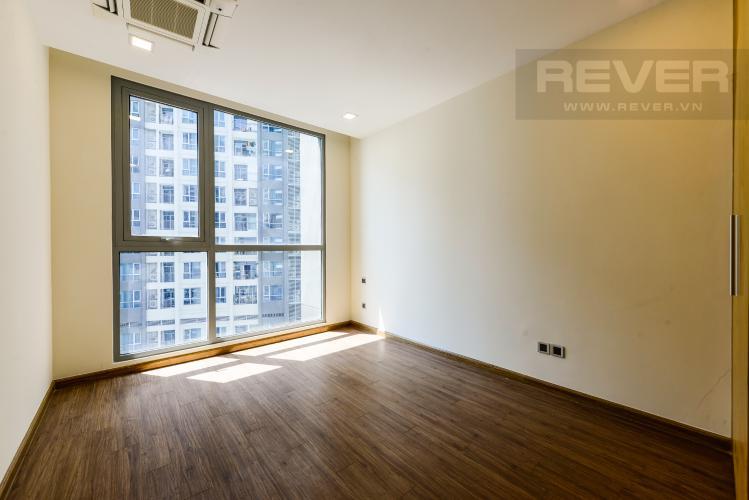 Phòng ngủ 1 Căn hộ Vinhomes Central Park tầng cao 2PN nội thất cơ bản