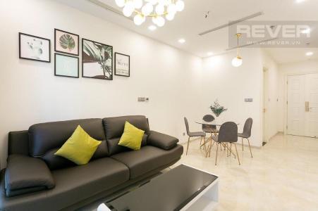 Cho thuê căn hộ Vinhomes Golden River 1PN, tháp The Aqua 1, diện tích 49m2, đầy đủ nội thất, hướng Tây Nam