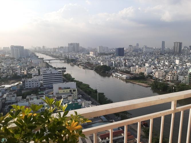 Căn hộ Quốc Cường Gia Lai 1, quận 7 Căn hộ tầng 19 chung cư Quốc Cường Gia Lai 1 cửa chính hướng Đông mát mẻ