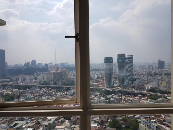View căn hộ THE MANOR Bán hoặc cho thuê căn hộ The Manor 3PN, diện tích 136m2, đầy đủ nội thất, căn góc, view thành phố