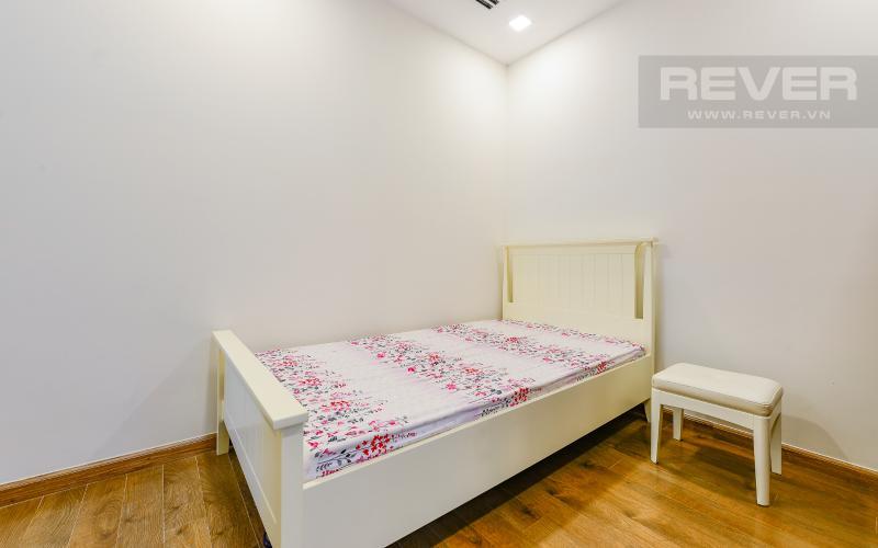 phòng ngủ 2 Căn hộ Vinhomes Central Park tầng trung Park 1 thiết kế hiện đại