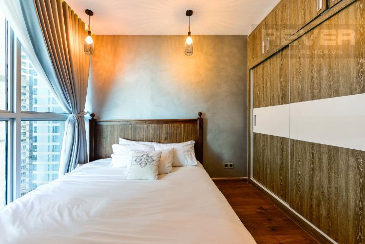 Phòng ngủ 1 Căn hộ Vinhomes Central Park tầng trung, tháp Park 5, 2 phòng ngủ, full nội thất