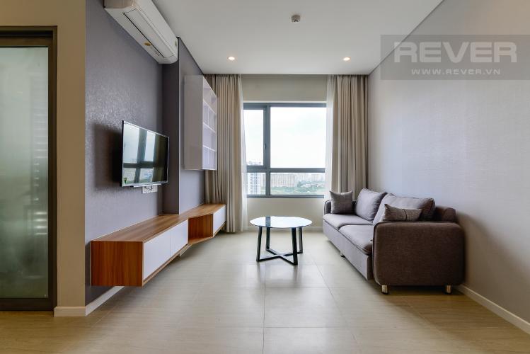 Phòng Khách 2 Bán căn hộ Diamond Island - Đảo Kim Cương 3 phòng ngủ, đầy đủ nội thất, view sông mát mẻ