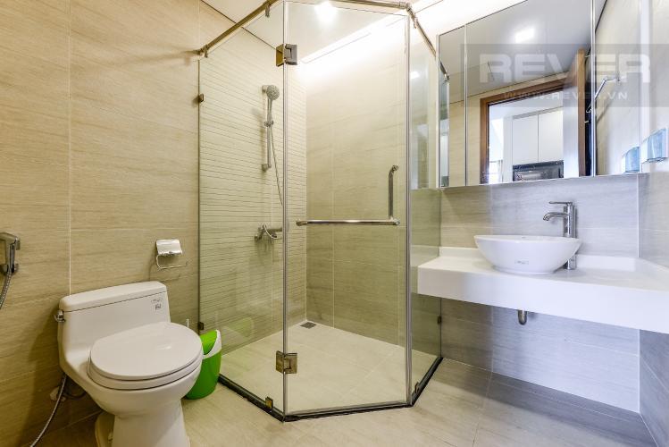 Phòng tắm 1 Cho thuê căn hộ Vinhomes Central Park tầng trung, 2PN, đầy đủ nội thất, view đẹp