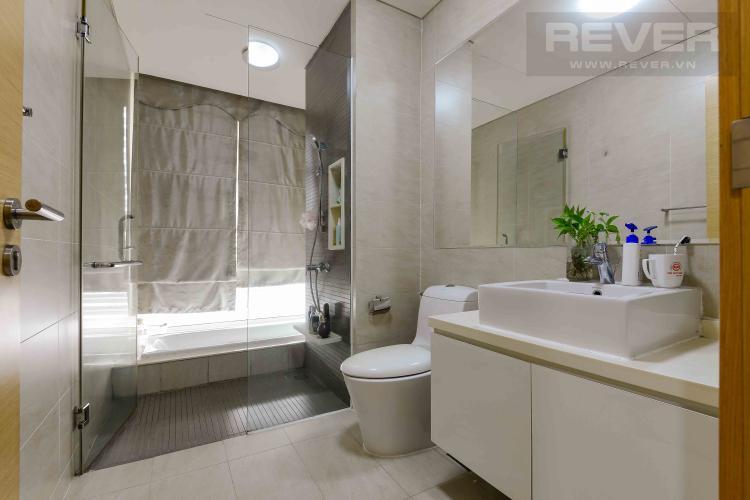 Toilet 2 Bán căn hộ The Vista An Phú 3 phòng ngủ tầng trung tháp T1, đầy đủ nội thất, không gian yên tĩnh