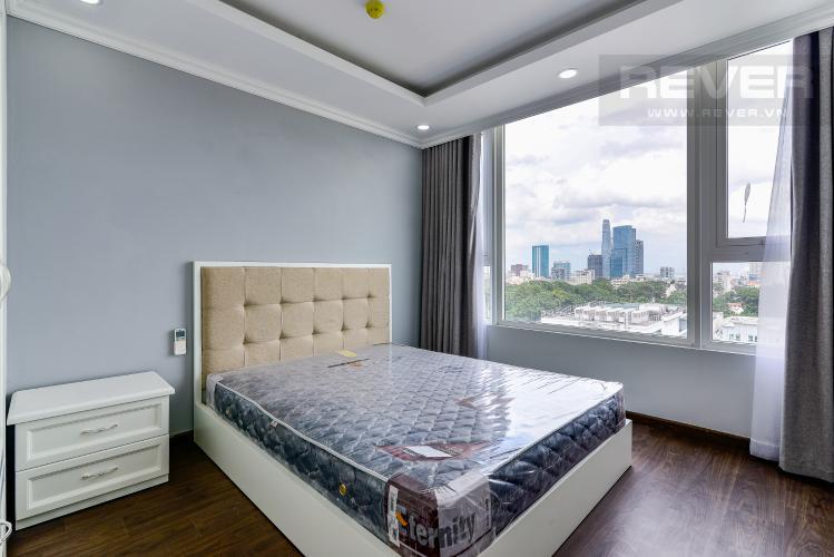 Phòng Ngủ 3 Cho thuê căn hộ tầng cao Léman Luxury Apartments, 2PN, đầy đủ nội thất
