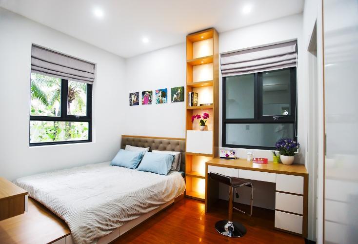 Nhà mẫu Saigon Intela, Bình Chánh Căn hộ tầng cao Saigon Intela 3 phòng ngủ, nội thất cơ bản.