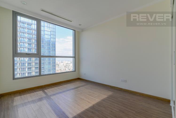Phòng Ngủ 1 Cho thuê căn hộ Vinhomes Central Park 3PN và 2WC, nội thất cơ bản, view nội khu