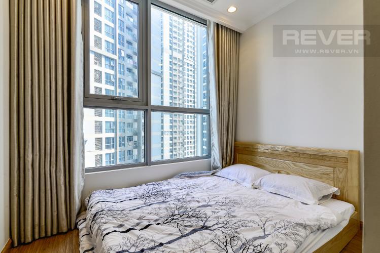 Phòng Ngủ 2 Căn hộ Vinhomes Central Park tầng trung, 2PN, nội thất đầy đủ
