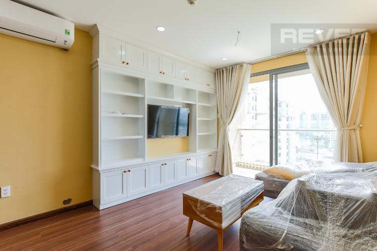 Phòng Khách Căn hộ The Gold View tầng thấp tháp A 2 phòng ngủ view sông