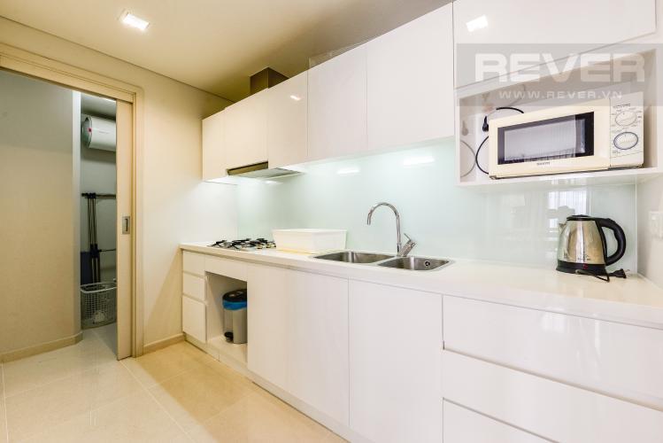 Bếp Căn hộ City Garden tầng trung, 1PN đầy đủ nội thất, có thể dọn vào ở ngay