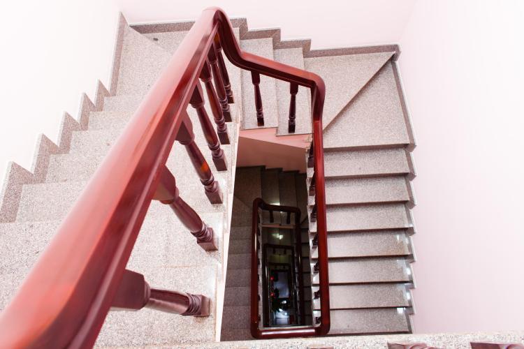 Cầu thang Nhà phố Nguyễn Văn Dung 4 tầng kiên cố