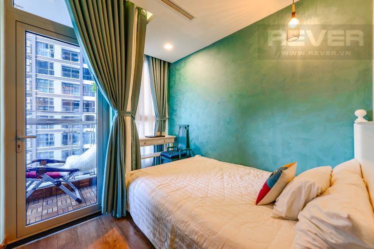 Phòng ngủ 2 Căn hộ Vinhomes Central Park tầng trung, tháp Park 5, 2 phòng ngủ, full nội thất