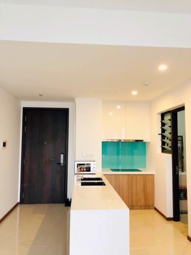 Phòng bếp One Verandah Quận 2 Căn hộ One Verandah tầng trung, trang bị nội thất đầy đủ.