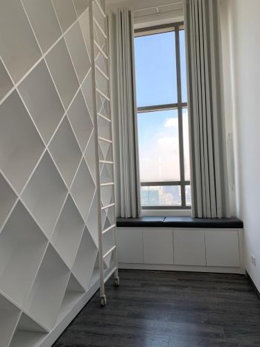 phòng đọc sách penthouse riviera point Căn hộ Penthouse Riviera Point tầng cao lộng gió, đón view thành phố.