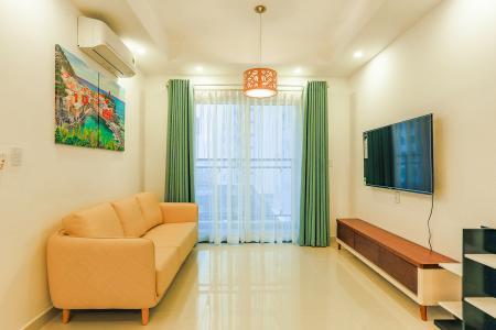 Căn hộ Florita 2 phòng ngủ tầng trung tháp A view sông, full nội thất