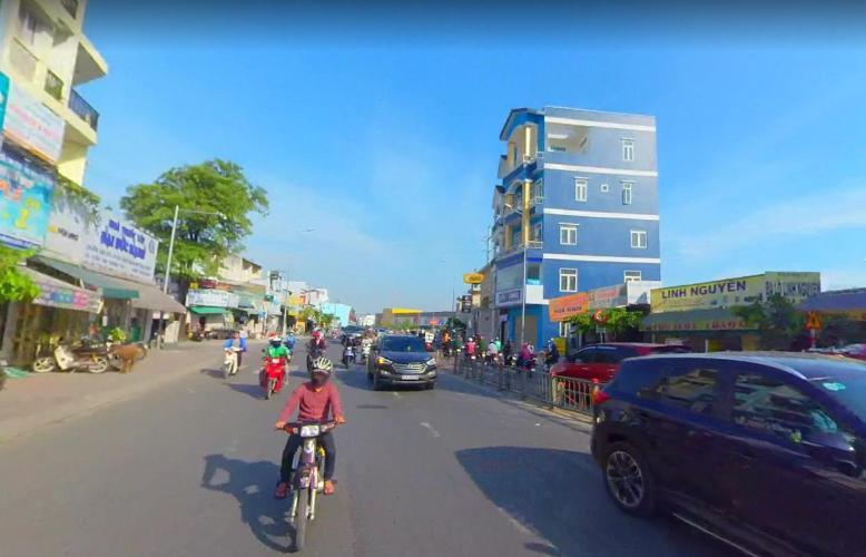 đường Nhà phố hướng Đông Nam mặt tiền, diện tích sử dụng 432m2.