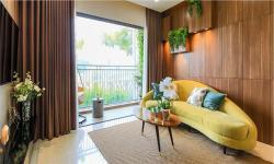 Khám phá thiết kế bên trong căn hộ mẫu Palm Garden