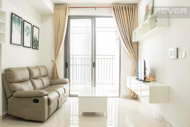 Phòng Khách Cho thuê căn hộ The Tresor 1PN, tầng cao, đầy đủ nội thất, view sông Bến Nghé
