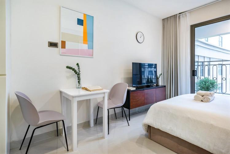 Bán căn hộ officetel Saigon Royal 1PN, tháp A, diện tích 29m2, đầy đủ nội thất, view nội khu