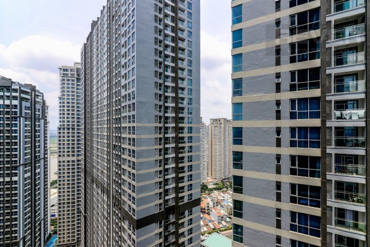 View Căn hộ Vinhomes Central Park 2 phòng ngủ tầng cao P4 hướng Tây Nam