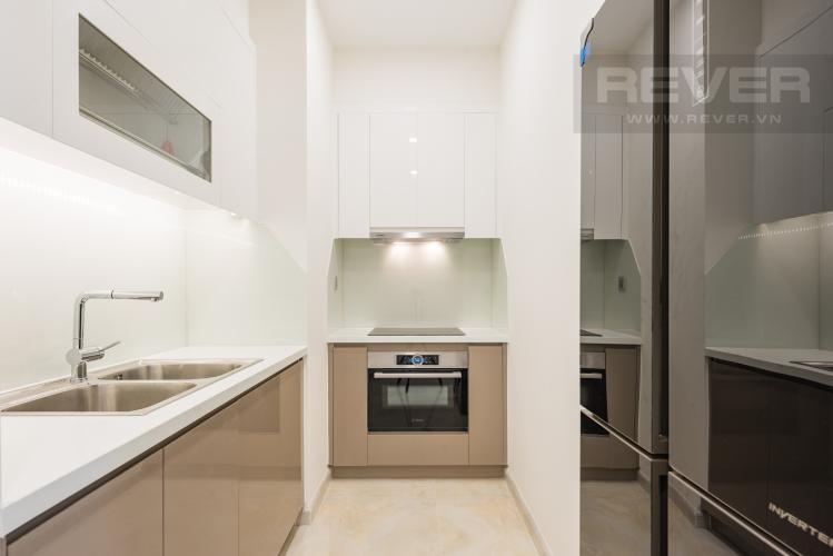 Bếp Căn hộ Vinhomes Golden River 1PN, tầng cao, tháp The Aqua 1, bàn giao kèm nội thất đầy đủ