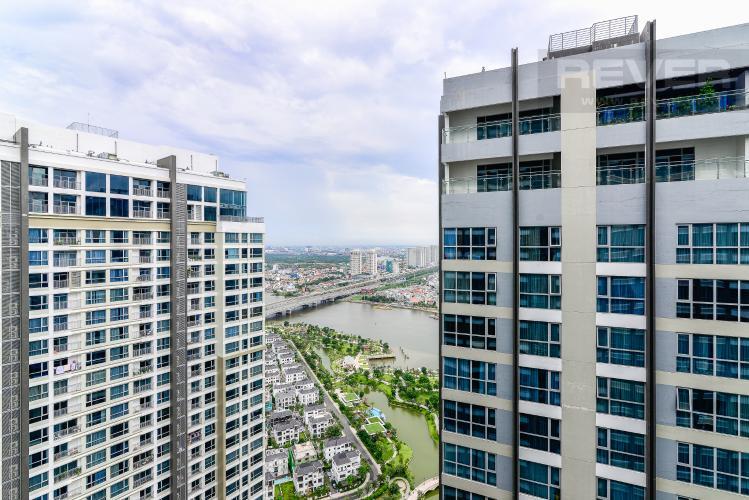 View Bán căn hộ Vinhomes Central Park tầng cao, 2PN, đầy đủ nội thất, view sông