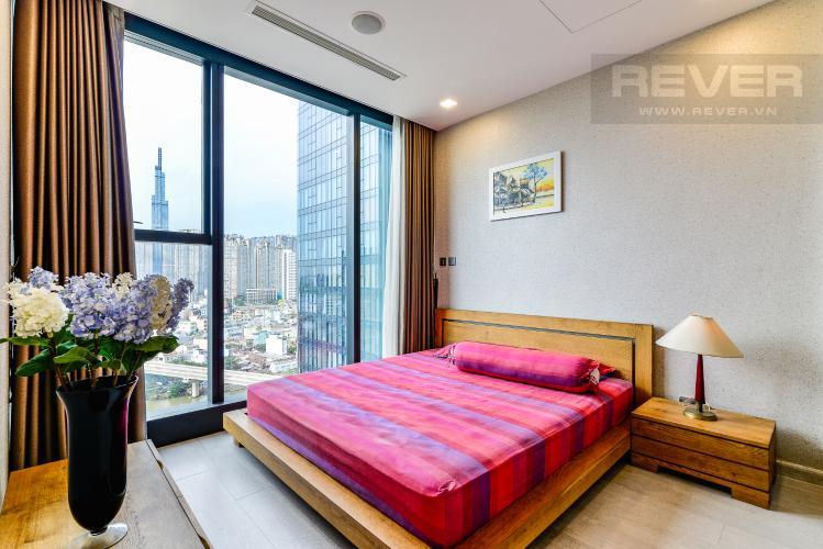 Phòng Ngủ 1 Căn hộ Vinhomes Golden River tầng thấp, tháp Aqua 1, 2 phòng ngủ, view sông