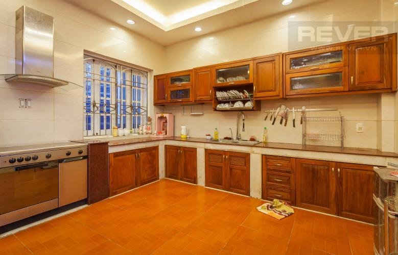 Phòng bếp Nhà phố 1 trệt 3 lầu đường Số 34 Bình An Quận 2