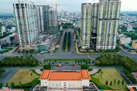 Bán căn hộ Feliz en Vista 2PN, tháp Cruz, diện tích 85m2, không có nội thất, ban công hướng Tây Bắc