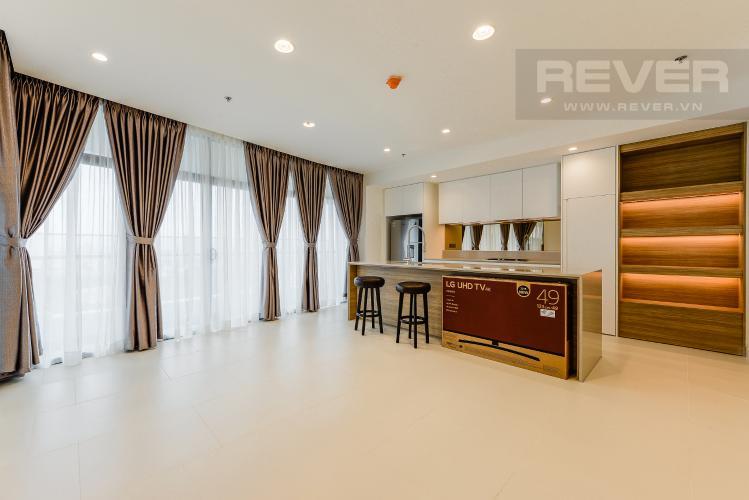 Phòng khách Căn hộ City Garden tầng cao 2PN đầy đủ nội thất, tiện ích đa dạng