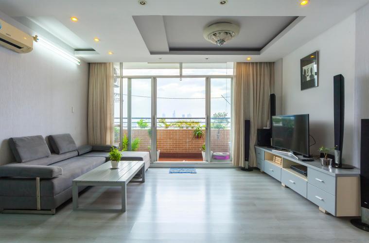 Căn hộ 3 phòng ngủ tầng cao chung cư Bình Minh view về Quận 1