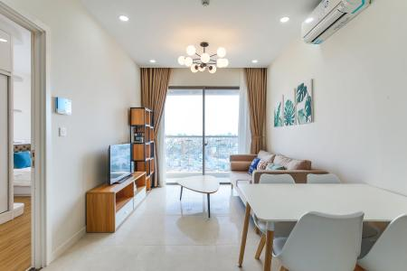Cho thuê căn hộ Masteri Millennium tầng trung, 2PN, nội thất đầy đủ