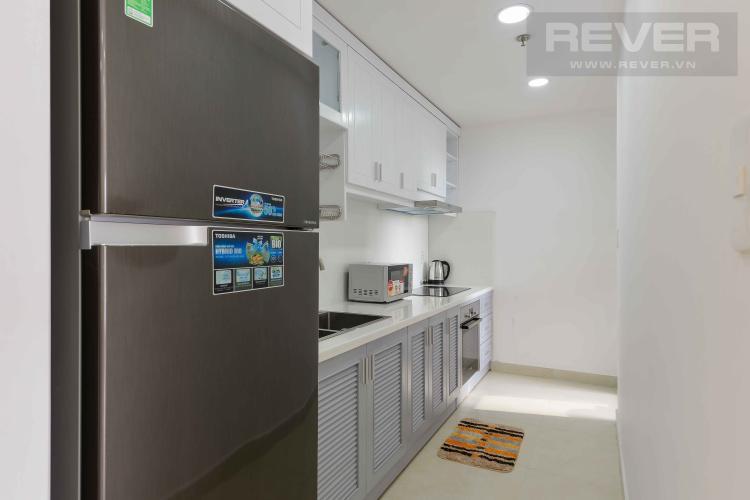 Bếp Cho thuê căn hộ Masteri Thảo Điền 2PN, tầng thấp, diện tích 72m2, đầy đủ nội thất