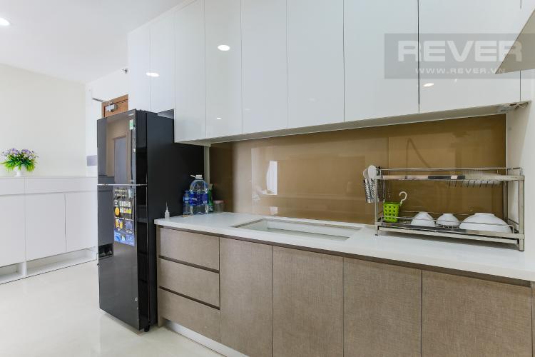 Phòng Bếp Cho thuê căn hộ Masteri Millennium tầng cao, 2PN, đầy đủ nội thất