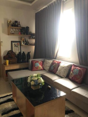 Phòng khách Dream Home Residence, Gò Vấp Căn hộ Dream Home Residence tầng trung, view nội khu thoáng mát.