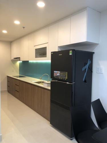 Phòng bếp Happy Residence Căn hộ Happy Residence tầng trung, đầy đủ nội thất.
