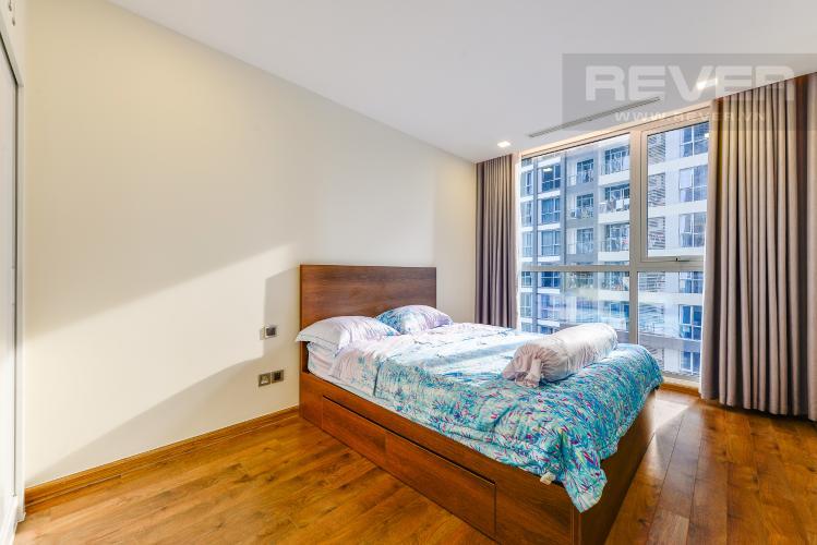 Phòng ngủ 2 Căn hộ Vinhomes Central Park 2 phòng ngủ tầng trung P3 hướng Tây