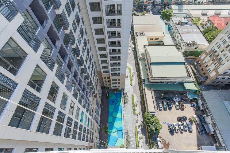 View Căn hộ The Tresor 3 phòng ngủ tầng trung TS1 view sông