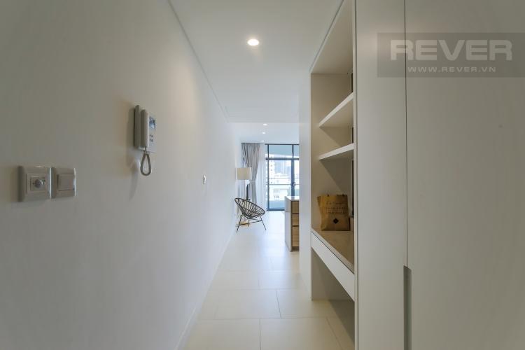 Hành Lang Cho thuê căn hộ City Garden 1PN, diện tích 67m2, đầy đủ nội thất