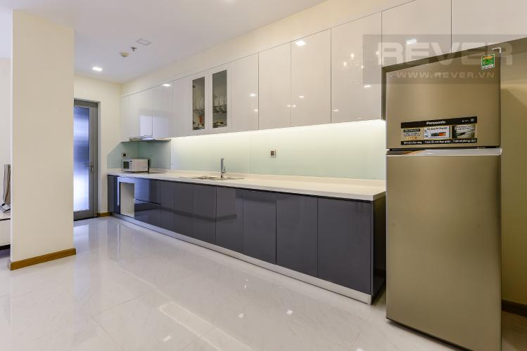 Bếp Căn hộ Vinhomes Central Park 3 phòng ngủ tầng cao P3 hướng Bắc