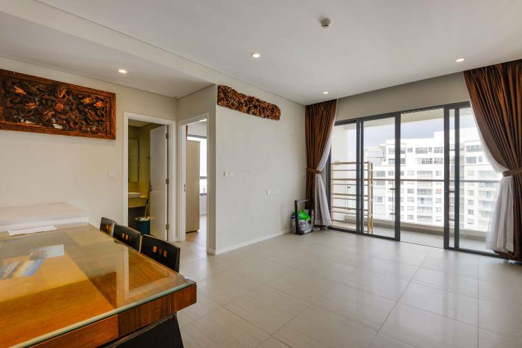 Phòng Khách Bán căn hộ Diamond Island - Đảo Kim Cương 2PN, tầng cao, tháp Canary, view hồ bơi