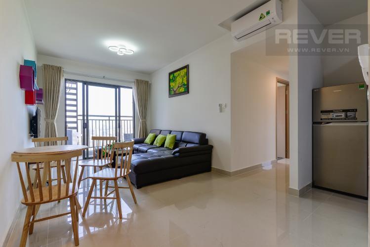 Phòng Khách Căn hộ The Sun Avenue tầng cao, 3PN, đầy đủ nội thất, view công viên